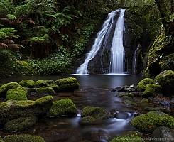Five Day Creek cascades
