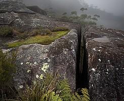 Mist on Dandahra Crags