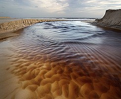 Creek on the Beach